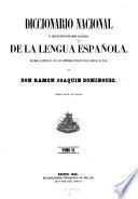 Diccionario nacional o gran diccionario clasico de la lengua espanola (etc.) 3. ed. por Mellado