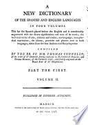 Diccionario nuevo de las dos lenguas española e inglesa