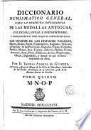 Diccionario numismatico general, 5