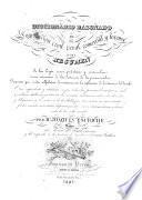 Diccionario razonado de legislacion civil, penal, comercial y forense ... Dispuesto por órden alfabético de materias, etc