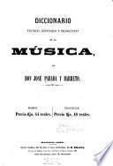 Diccionario técnico, histórico y biográfico de la música