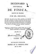 Diccionario universal de física