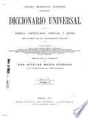 Diccionario universal de la lengua castellana, ciencas y artes