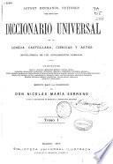 Diccionario universal de la lengua castellana, ciencias y artes: t. 2, t. 3, t. 4, t. 5, t. 6, t. 7,t. 8, t. 9, t. 10, t. 11, t.12, t.13, t.15, t. 16
