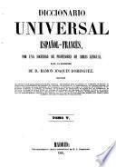 Diccionario universal francés-español: Español-francés