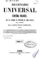 Diccionario Universal Francés-Español, Español-Francés