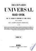 Diccionario universal francés-español: Francés-español