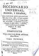 Diccionario universal, francés, y español