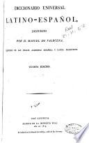 Diccionario universal latino-español