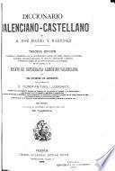 Diccionario valenciano-castellano de D. José Escrig y Martínez