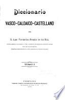 Diccionario vasco-caldaico-castellano