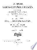 Diccionario vasco-español-francés