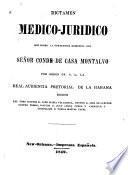 Dictamen médico-jurídico