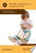 Didáctica de la educación infantil. SSC322_3