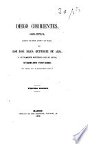 Diego Corrientes, drama popular, escrito en tres actos y en verso