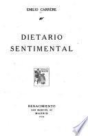 Dietario sentimental