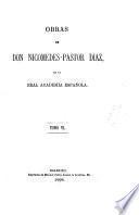 Diez años de controversia parlamentaria. Discursos parlamentarios [1844-63