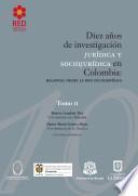 Diez años de investigación jurídica y sociojurídica en Colombia: balances desde la Red Sociojurídica, tomo II