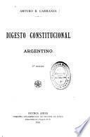 Digesto constitucional argentino