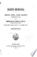 Digesto municipal
