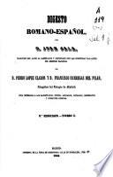 Digesto romano-español