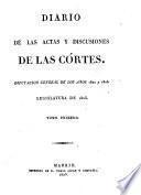 Diputacion General de los Anos 1822 y 1823. Legislatura de 1823