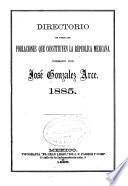 Directorio de todas las poblaciones que constituyen la Republica Mexicana