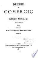 Directorio del comercio del Imperio Mexicano