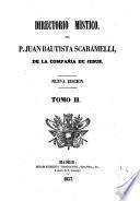 Directorio místico del.. Scaramelli, 2