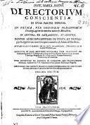 Directorium conscientiae