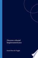 Discurso colonial hispanoamericano