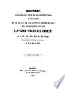 Discurso en alabanza de la Santisima Virgen del Carmen