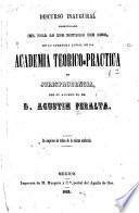 Discurso inaugural pronunciado el día 13 de enero de 1853