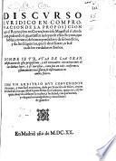 Discurso juridico en comprovacion de la proposicion que el Reyno jũto en Cortes, hizo á Su Magestad el año de 1615 pidiendo se guardassen las leyes de estos Reynos, que hablan en razon de bienes perdidos; y ... de las diligencias, que se devẽ hazer en busca de los verdaderos dueños. Donde se trata de la ... justificacion de esta proposicion ... con un arbitrio muy conveniente à su mejor ... execucion, dado por F. de Mõtes, etc. [By A. Carranza.]
