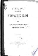 Discurso leído el día 3 de diciembre de 1887 en el Ateneo Científico y Literario de Madrid