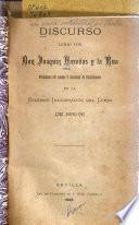 Discurso leido ... en la solemne inaugración del curso de 1895-96