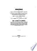 Discurso sobre el genio y caracter de la lengua española en el siglo XIX