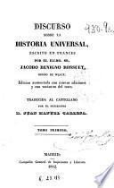 Discurso sobre la historia universal