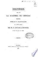 Discurso sobre los límites del análisis químico