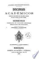Discursos académicos y sermones