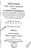 Discursos del abad Fleuri sobre la historia eclesiastica, 2