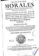Discursos morales sobre los Euangelios de la Cuaresma ...