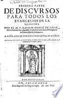 Discursos para todos los evangelios de la quaresma