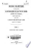 Discursos parlamentarios del... José María Queipo de Llano y Ruiz de Saravia