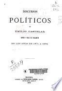 Discursos políticos de Emilio Castelar