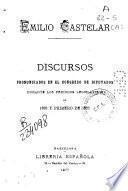 Discursos pronunciados en el Congreso de Diputados durante los períodos legislativos de 1876 y primero de 1877