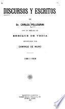 Discursos y escritos, 1881-1906