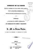 Discusión de las Cortes sobre la tutela de S.M. la Reina Doña Isabel II y su augusta hermana