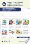 Diseño funcional y de la interactividad de productos multimedia. ARGN0110