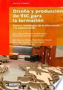 Diseño y producción de TIC para la formación
